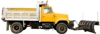 Snow Removal Dump Truck & Plow for smow removal