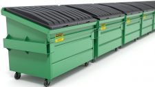dumpsters municipal solid waste management