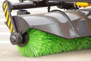 municipal maintenace street sweeper